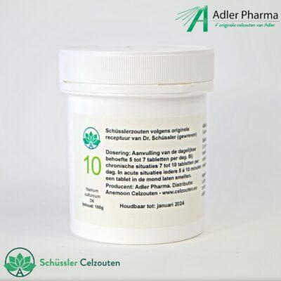 celzout10-Natrium-Sulfuricum-D6-100g