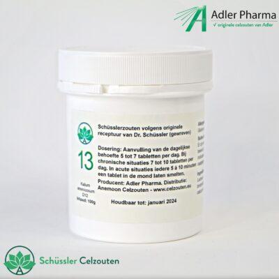 celzout13-Kalium-Arsenicosum-D12-100g